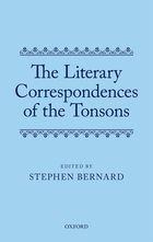 Stephen Bernard Tonsons Literary Correspondences