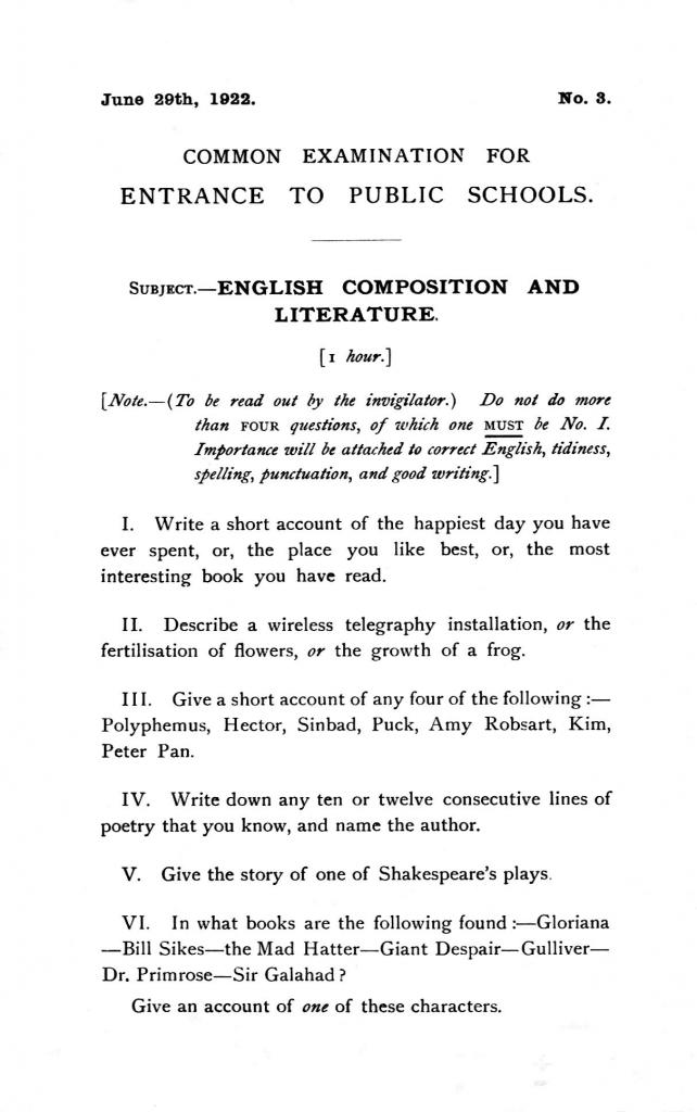 Grammar papers